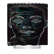 Mary Magdalene Sees Christ Is Risen Shower Curtain