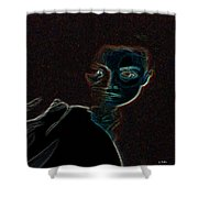 Mary Magdalene Sees The Empty Tomb Of Jesus Shower Curtain
