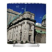 Mary Queen Of The World Cathedral Montreal Shower Curtain