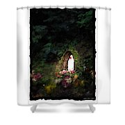 Mary Virgin And Mother Reconciler Of All People And Nations Of Betania Shower Curtain