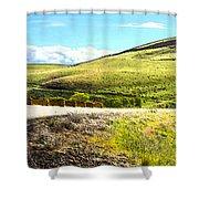 Maryhill Spring 2014  Shower Curtain