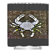 Maryland Country Roads - Camo Crabby 1a Shower Curtain