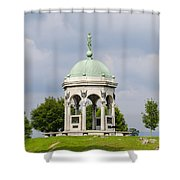 Maryland Monument - Antietam National Battlefield Shower Curtain