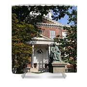 Maryland State House And Statue Shower Curtain