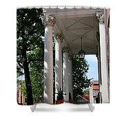 Maryland State House Columns Shower Curtain