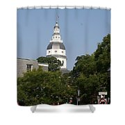 Maryland State House Cupola Shower Curtain