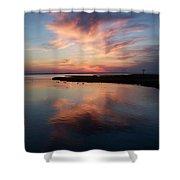 Maryland Sunset Shower Curtain