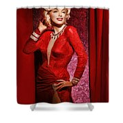 Marylin Monroe Shower Curtain