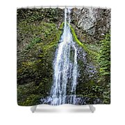 Marymere Falls Olympics Shower Curtain