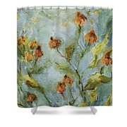Mary's Garden Shower Curtain