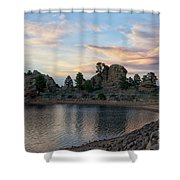 Mary's Lake  Shower Curtain