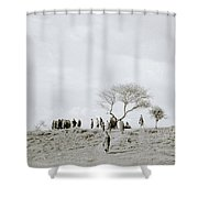 Iconic Africa Shower Curtain