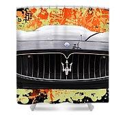 Maserati Granturismo I V Shower Curtain