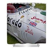 Maserati Tipo 420 M 58 Eldorado 1958 Shower Curtain