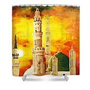 Masjid E Nabwi Shower Curtain