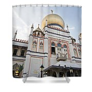 Masjid Sultan Mosque In Singapore Shower Curtain