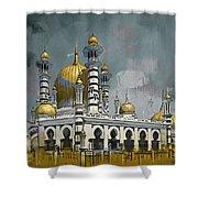 Masjid Ubudiah Shower Curtain