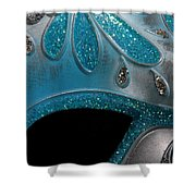 Mask 1 Shower Curtain
