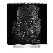 Mask Shower Curtain