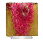 Mask Pastel Chalk 1 Shower Curtain