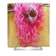 Mask Pastel Chalk 2 Shower Curtain