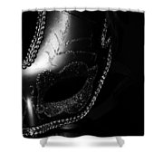 Mask Series 07 Shower Curtain