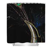 Mask Series 08 Shower Curtain