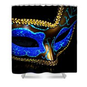 Mask Series 10 Shower Curtain