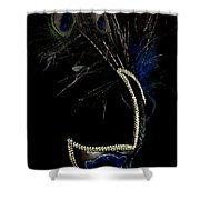 Mask Series 13 Shower Curtain