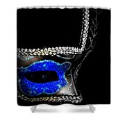 Mask Series 14 Shower Curtain