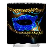 Mask Series 15 Shower Curtain