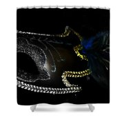 Mask Series 16 Shower Curtain