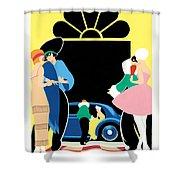 Masked Ball Shower Curtain