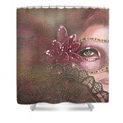 Masked IIi Shower Curtain