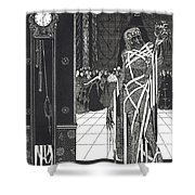 Masque Of The Red Death Shower Curtain