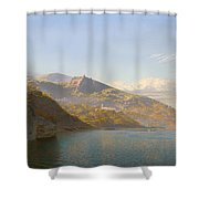 Massa And Bay Of Naples Shower Curtain