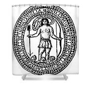 Massachusetts Bay Colonyseal, 1628 Shower Curtain