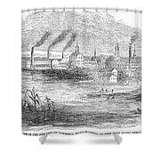 Massachusetts Lawrence Shower Curtain
