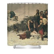 Massacre Of Glencoe, 1883-86 Shower Curtain