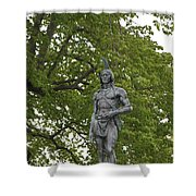 Massasoit Chief Of The Wampanoag Tribe Shower Curtain