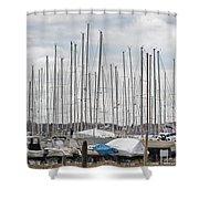 Glen Cove Mast Appeal Shower Curtain