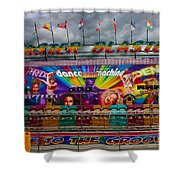 Master Blaster All The Fun Of The Fair Shower Curtain