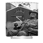 Master Distiller - D008301-bw Shower Curtain