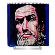 Master Of The Macabre-vincent Price  Shower Curtain