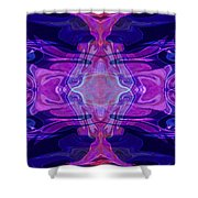 Mastering Universal Ideals Abstract Healing Artwork By Omaste Witkowski Shower Curtain