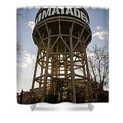 Matadero Water Tank Shower Curtain