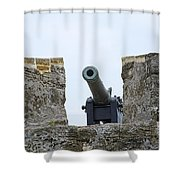 Matanzas Inlet Guardian Shower Curtain