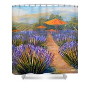 Matanzas Winery Shower Curtain