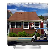 Matchless Retreat Shower Curtain
