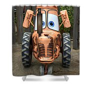 Mater's Tractor Shower Curtain